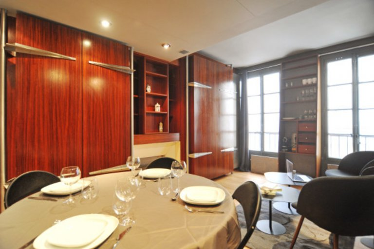 Wonderful Studio Apartment For Rent Near National School Of Fine Arts In  The 7th Arrondissement