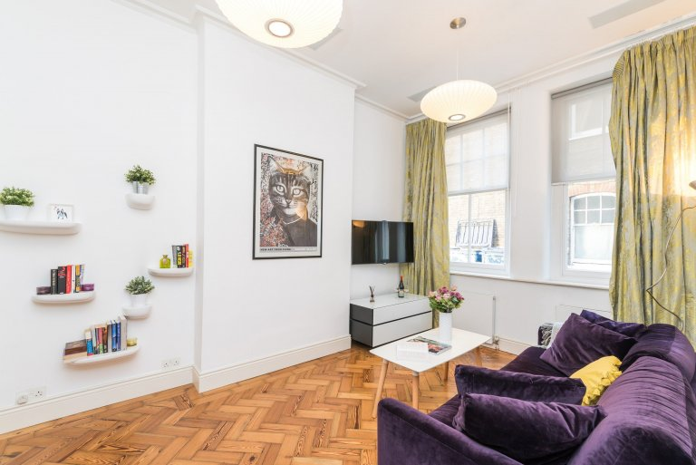 Luxurious 1-bedroom apartment for rent in Chelsea, London