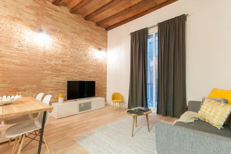 Piękne 3-pokojowe mieszkanie do wynajęcia, Barri Gòtic, Barcelona