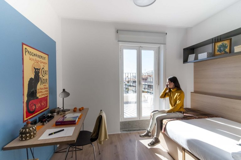 Ótimo quarto para alugar apartamento de 1 quarto em Salamanca, Madrid