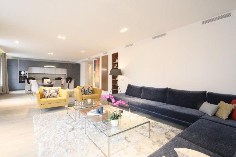 Luxury 2 bedroom apartment for rent in Centro, Madrid.
