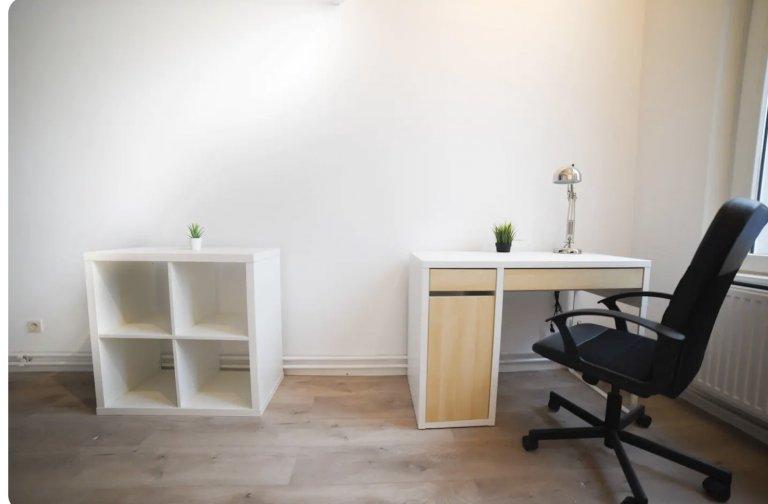 Saint Gilles, Brüksel'de 7 yatak odalı evde mobilyalı oda