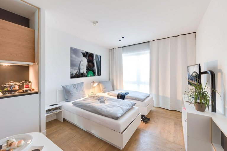 Stylish studio for rent in Lichtenberg, Berlin