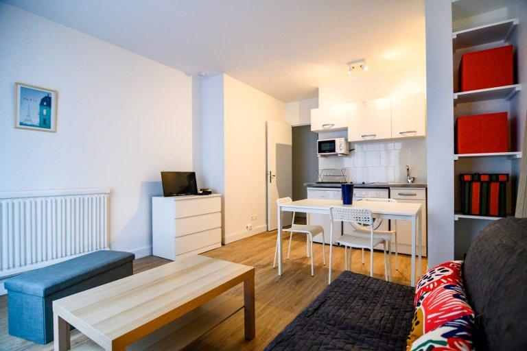 Studio apartment for rent in the 3rd arrondissement, Paris