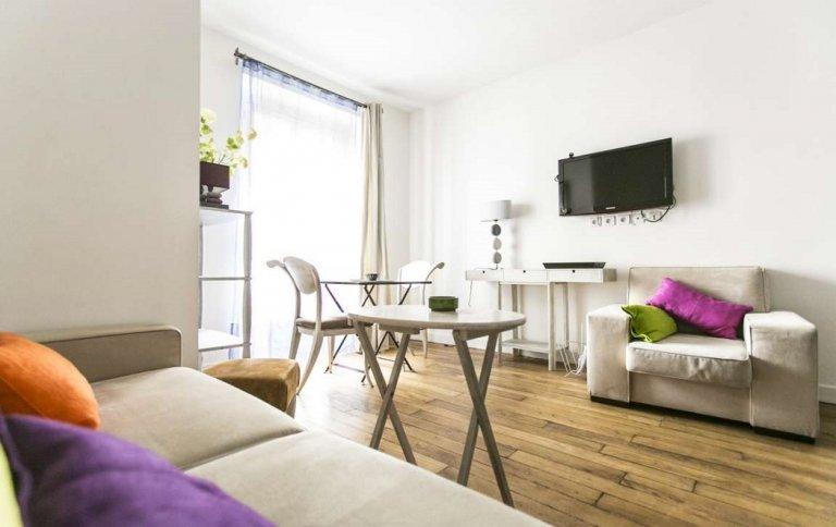 Piękny 1-pokojowy apartament do wynajęcia w Passy, Paryż