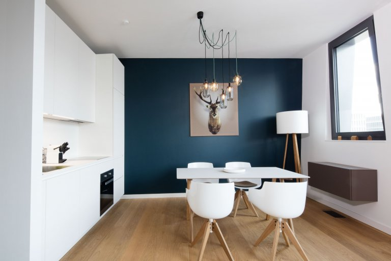 Stilvolles Apartment mit 1 Schlafzimmer in Mitte, Berlin