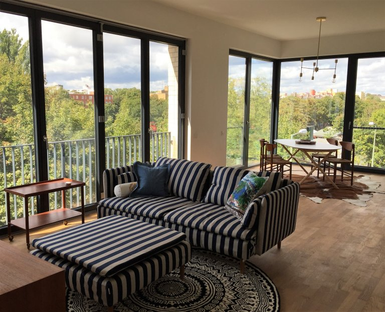 1-bedroom apartment for rent in Wedding with picturesque views