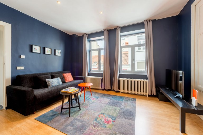Lovely 2-bedroom apartment for rent in Sablon, Brussels