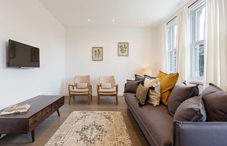 Geräumige 4-Zimmer-Wohnung zum Mieten in Battersea, London