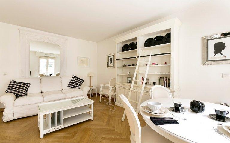 Elegancki 1-pokojowy apartament do wynajęcia w 6. dzielnicy