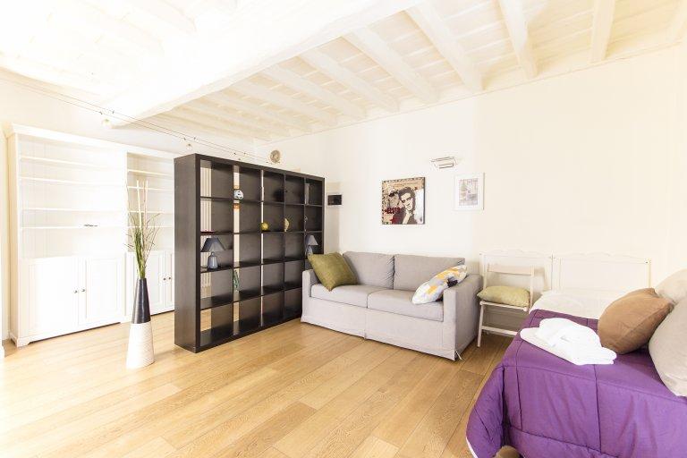 2-bedroom apartment for rent in Trastevere, Rome
