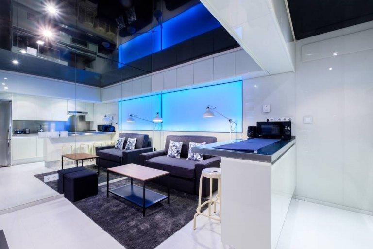 Apartamento de 1 quarto para alugar em Valdezarza, Madrid