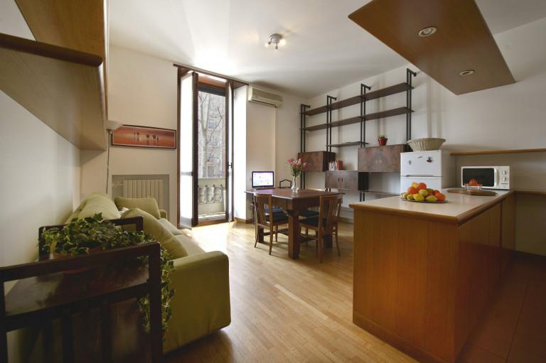 Apartamento de 1 quarto para alugar em Corso Sempione, Milão