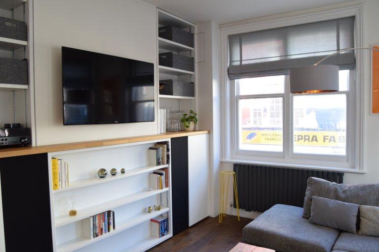 Fajne 1-pokojowe mieszkanie do wynajęcia w Tower Hamlets w Londynie.