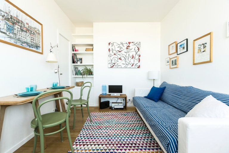 Studio apartment for rent in 11th arrondissement , Paris