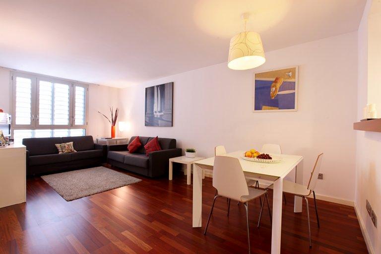 1-pokojowe mieszkanie do wynajęcia w Barceloneta, Barcelona