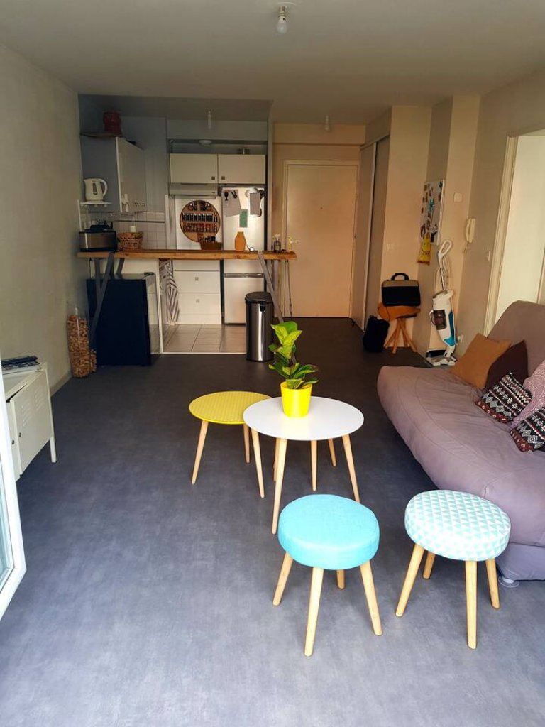 1-bedroom apartment for rent in Le Bourget, Paris
