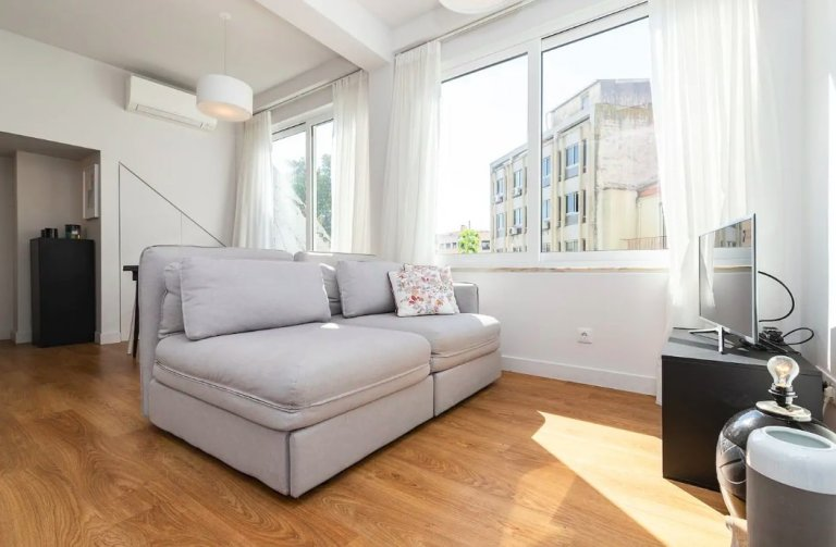 1-bedroom apartment for rent in Central Lisbon