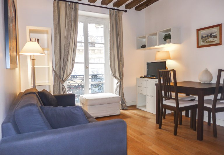 Small 1-bedroom apartment for rent in 3rd arrondissement