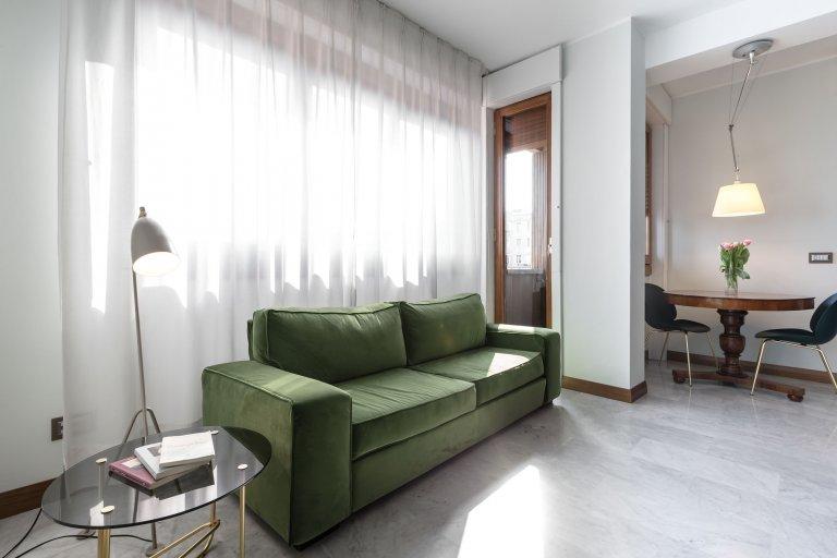 Apartamento de 1 quarto para alugar em Stazione Centrale, Milão