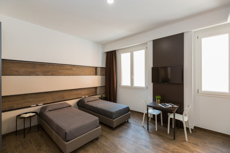 Studio-Apartment zu vermieten in Pigneto, Rom