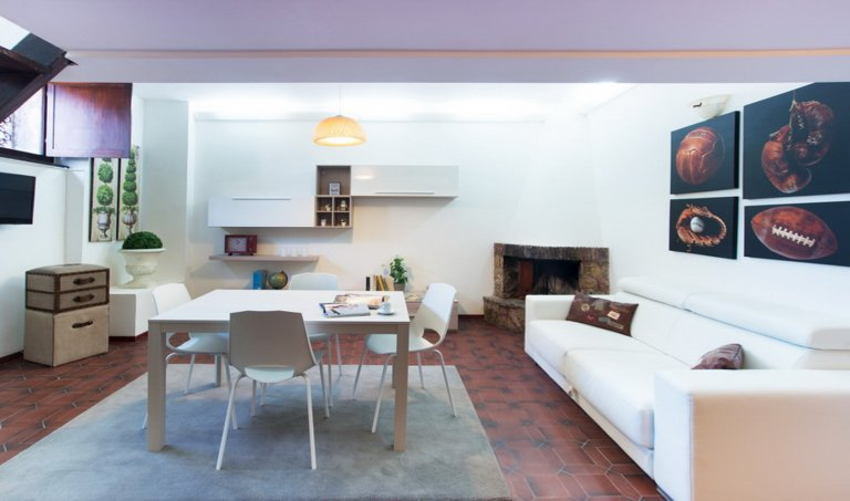 2-bedroom apartment for rent in Trastevere, Rome