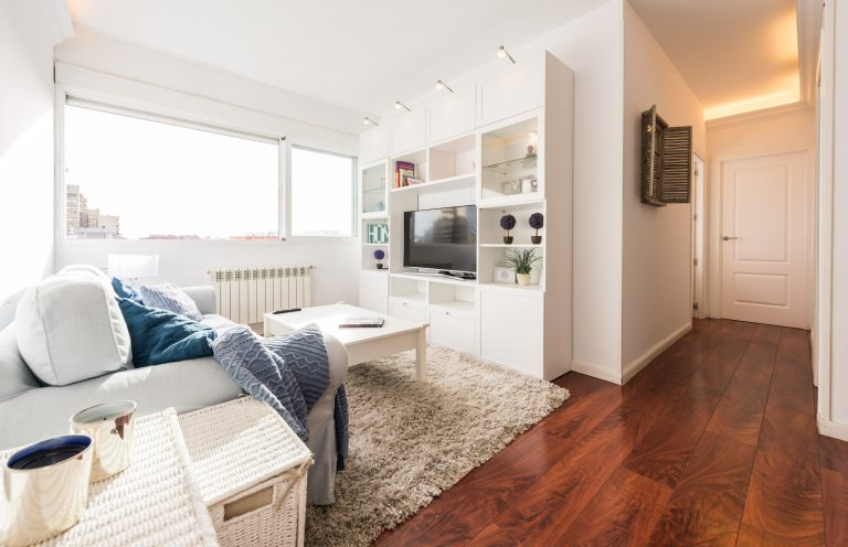 Stylish 2-bedroom apartment for rent in Tetuán, Madrid