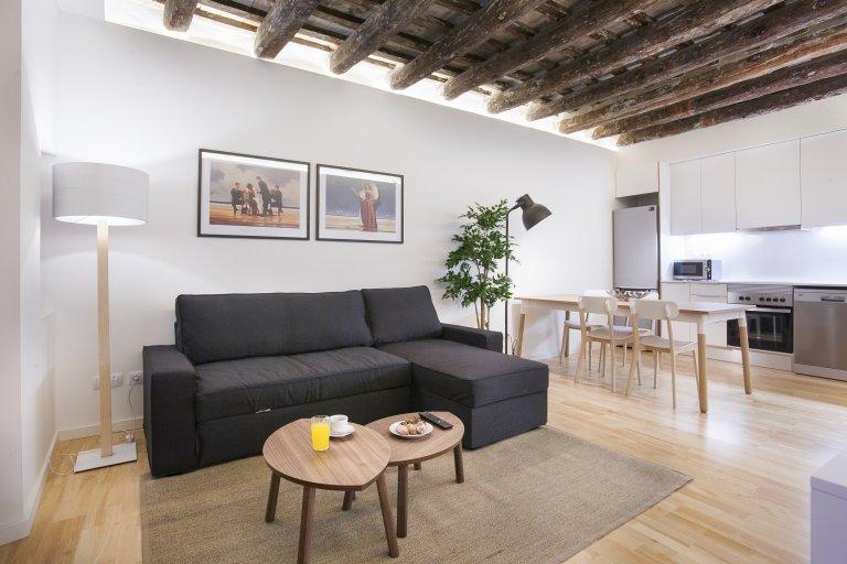 1-pokojowe mieszkanie do wynajęcia w El Born, Barcelona