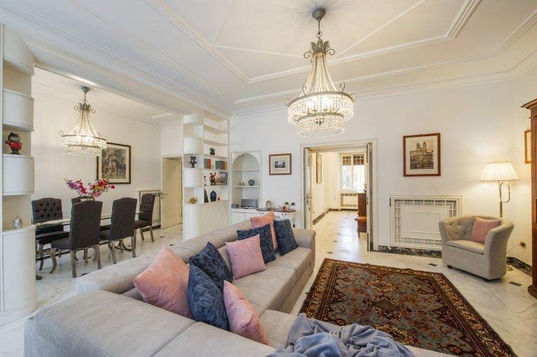 Tolle Wohnung mit 4 Schlafzimmern zu vermieten in Prati, Rom