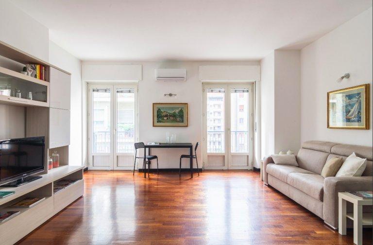 Apartamento de 1 quarto para alugar em San Siro, Milão