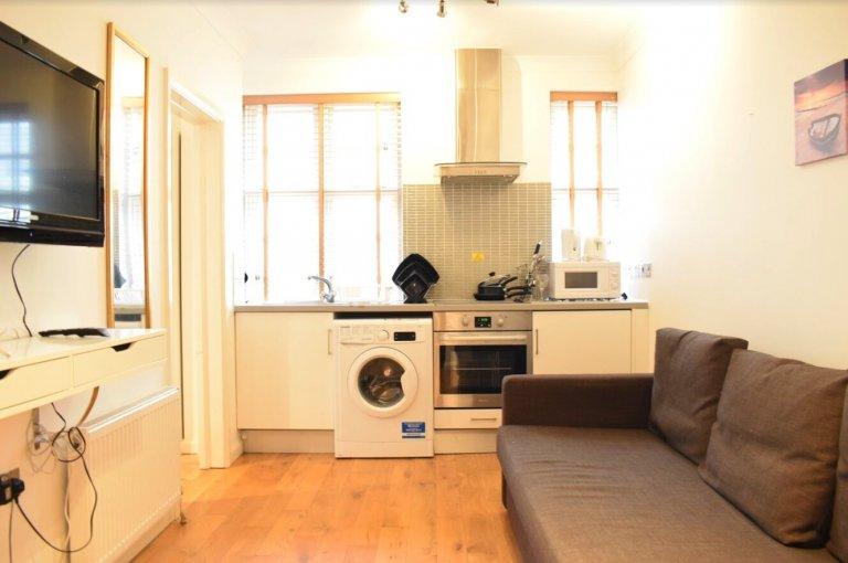 1-pokojowe mieszkanie do wynajęcia w Paddington w Londynie