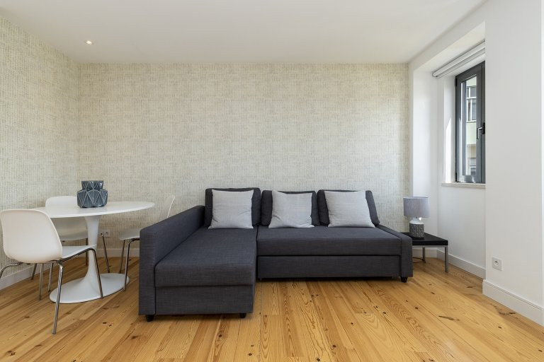 Fabulous 1-bedroom apartment for rent in Ajuda, Lisbon