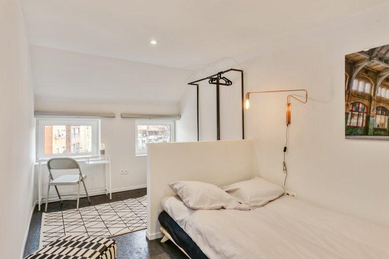 Saint Josse, Brüksel'deki 15 yatak odalı evde oda