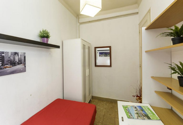 Nice room in 5-bedroom apartment in Gracia, Barcelona