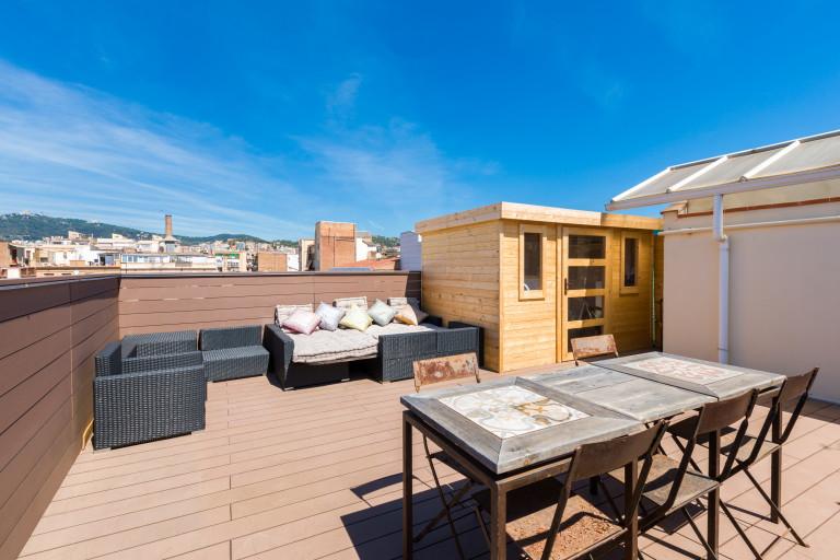 Stilvolle 1-Zimmer-Wohnung zu vermieten in Gràcia, Barcelona
