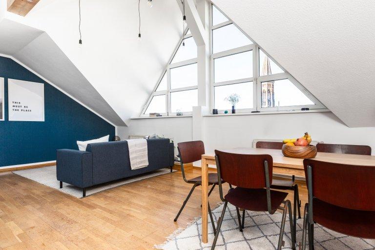 Moderno monolocale in affitto a Mitte, Berlino