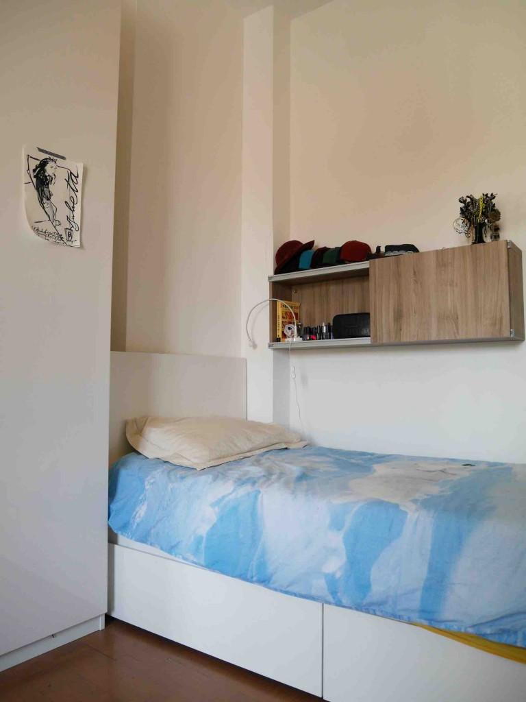 Chambre meublée dans un appartement à Guastalla, Milan