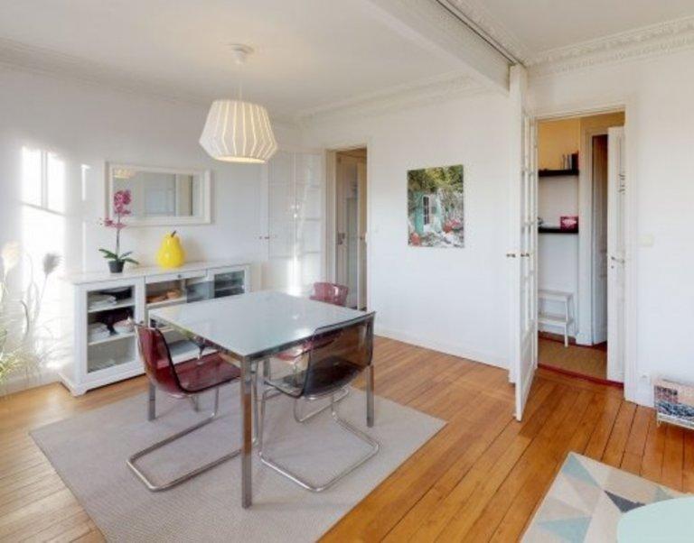 Appartement 1 chambre ensoleillé dans le 14ème arrondissement de Paris