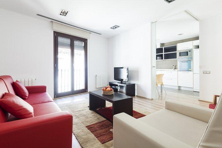 Ciutat Vella'da kiralık 2 odalı daire