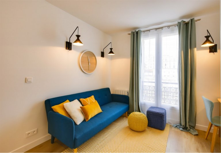 Studio apartment for rent in the 18th arrondissement, Paris