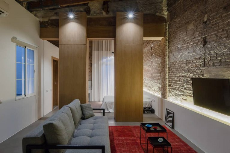 Chic apartment 1-bedroom flat to rent in La Xerea, Valencia