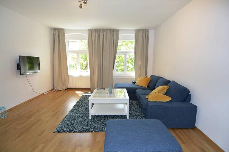 Apartamento luminoso com 2 quartos para alugar em Mitte, Berlim