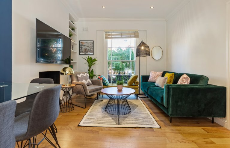 Schicke 4-Zimmer-Wohnung zum Mieten in Belsize Park, London