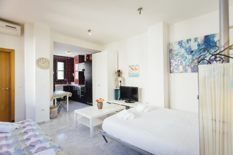 Sunny studio apartment for rent in San Vicente, Seville