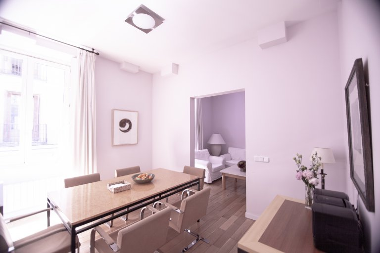 5-bedroom apartment for rent in Madrid Centro