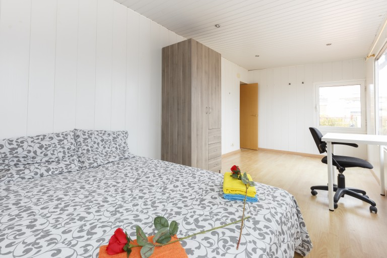 Pet friendly 4 bedroom apartment with terrace in Sant Andreu