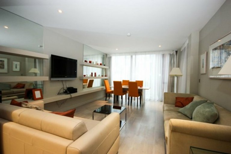 Serviced 1 Bed Apartment zu vermieten in Dublin City Centre, D2