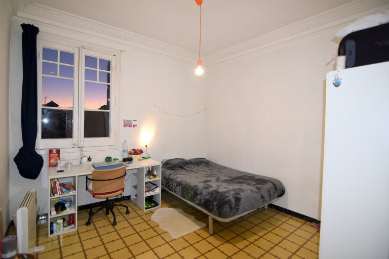 Decorated room in apartment, Eixample, Barcelona