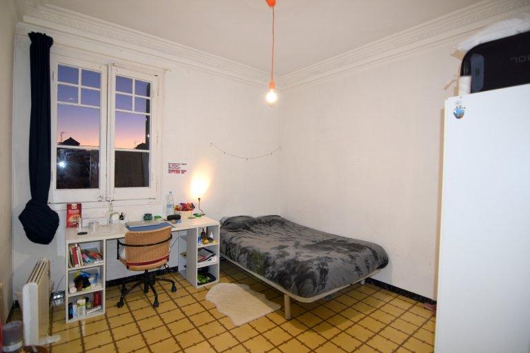 Quarto decorado no apartamento, Eixample, Barcelona