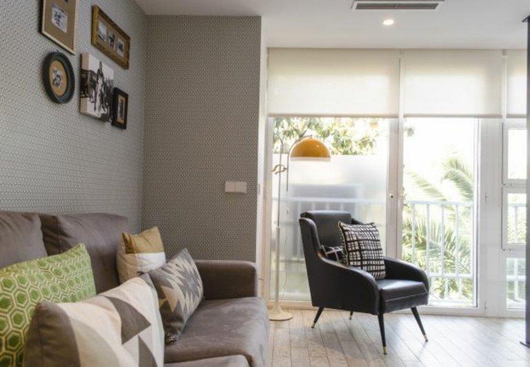 Klasyczne 1-pokojowe mieszkanie do wynajęcia w Chamartín, Madryt